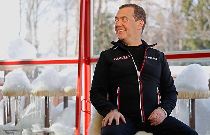 Медведев назвал свои достижения на посту главы правительства