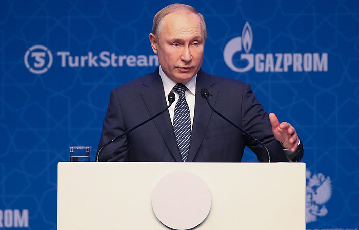 """Путин гарантировал безопасность поставок газа по """"Турецкому потоку"""""""