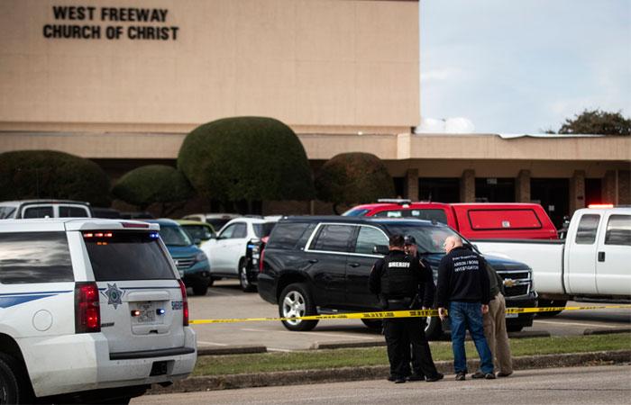 Стрельба произошла в церкви в Техасе