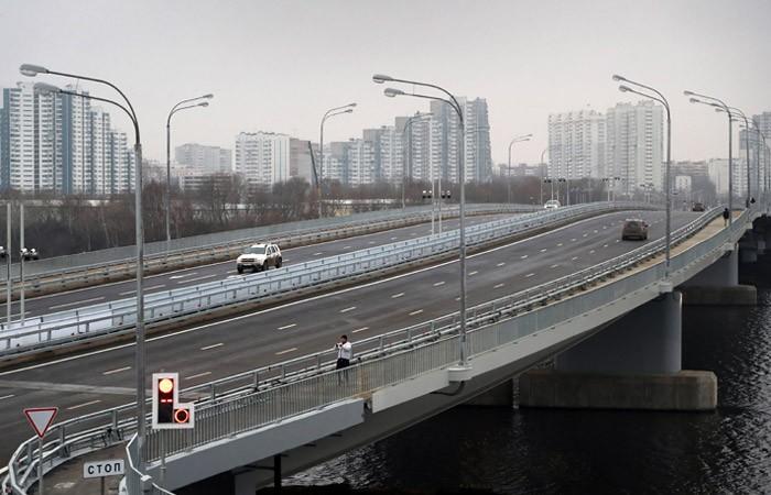 В Москве открылся автомобильный мост через Кожуховский затон