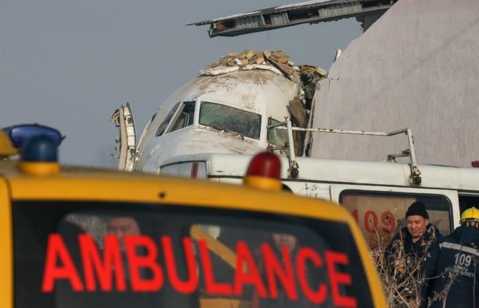 Следствие назвало версии авиакатастрофы в аэропорту Алма-Аты