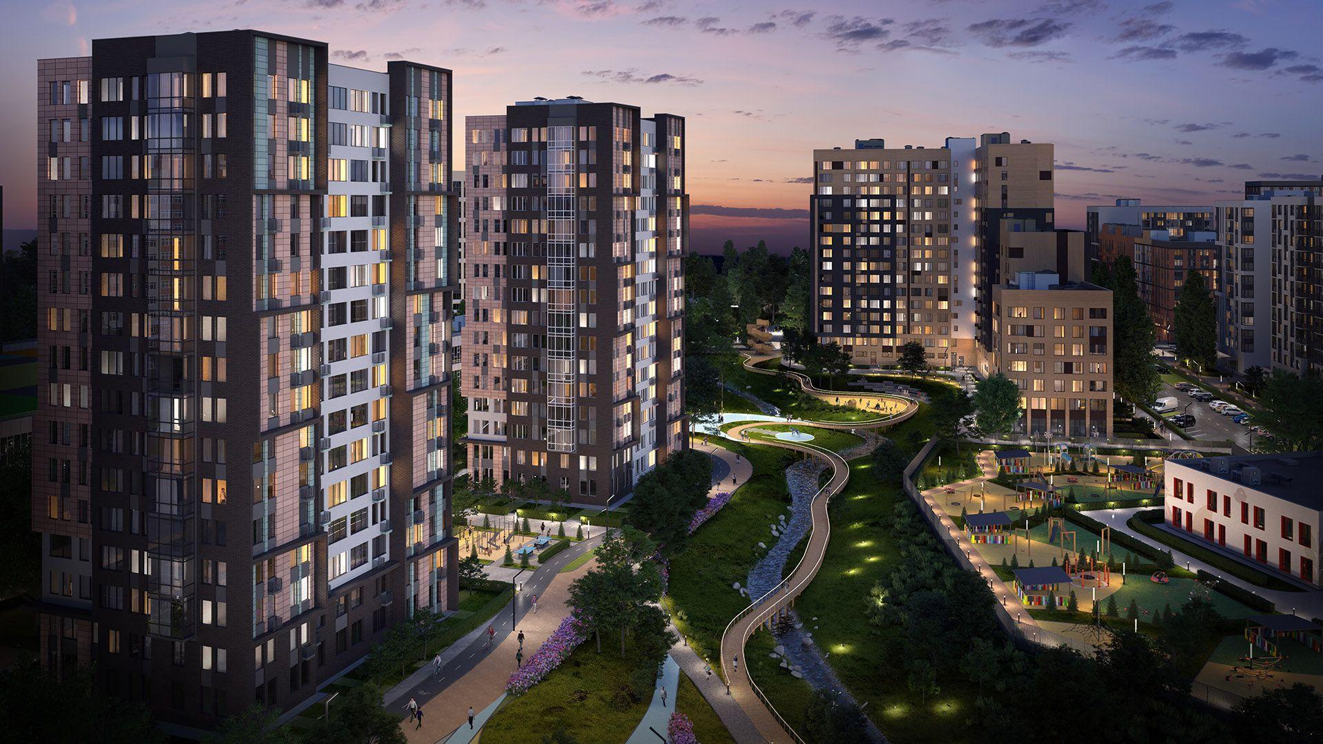 Два новых жилых дома введены в эксплуатацию в Новой Москве