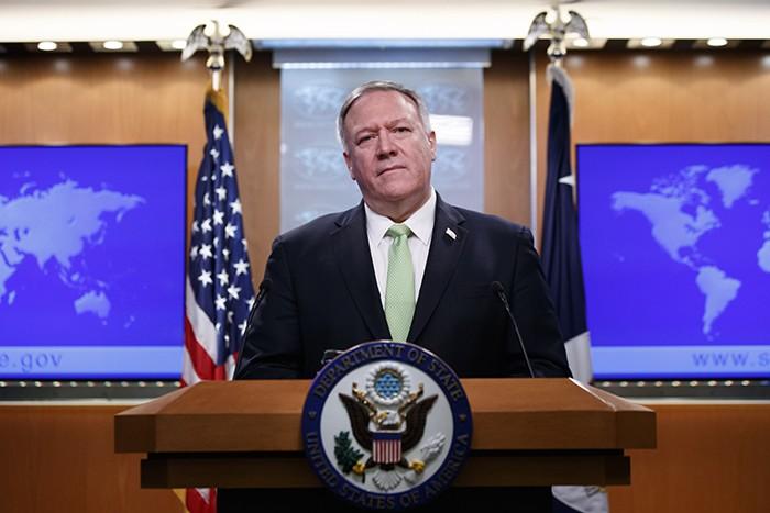 Госсекретарь Помпео отложил поездку на Украину и в Белоруссию из-за событий в Ираке