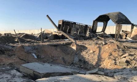 Пентагон назвал число раненых американских солдат в ходе иранской ракетной атаки