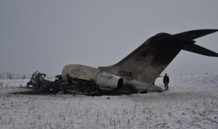 Военные США подтвердили крушение своего самолета в Афганистане