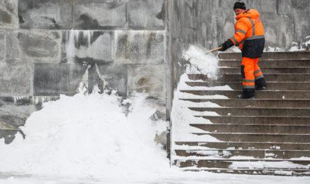Высота снежного покрова в Москве достигла максимума за зиму