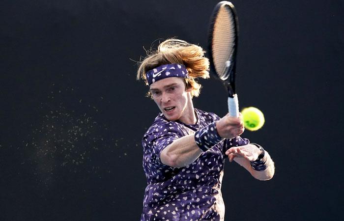 Андрей Рублев пробился в третий круг Australian Open