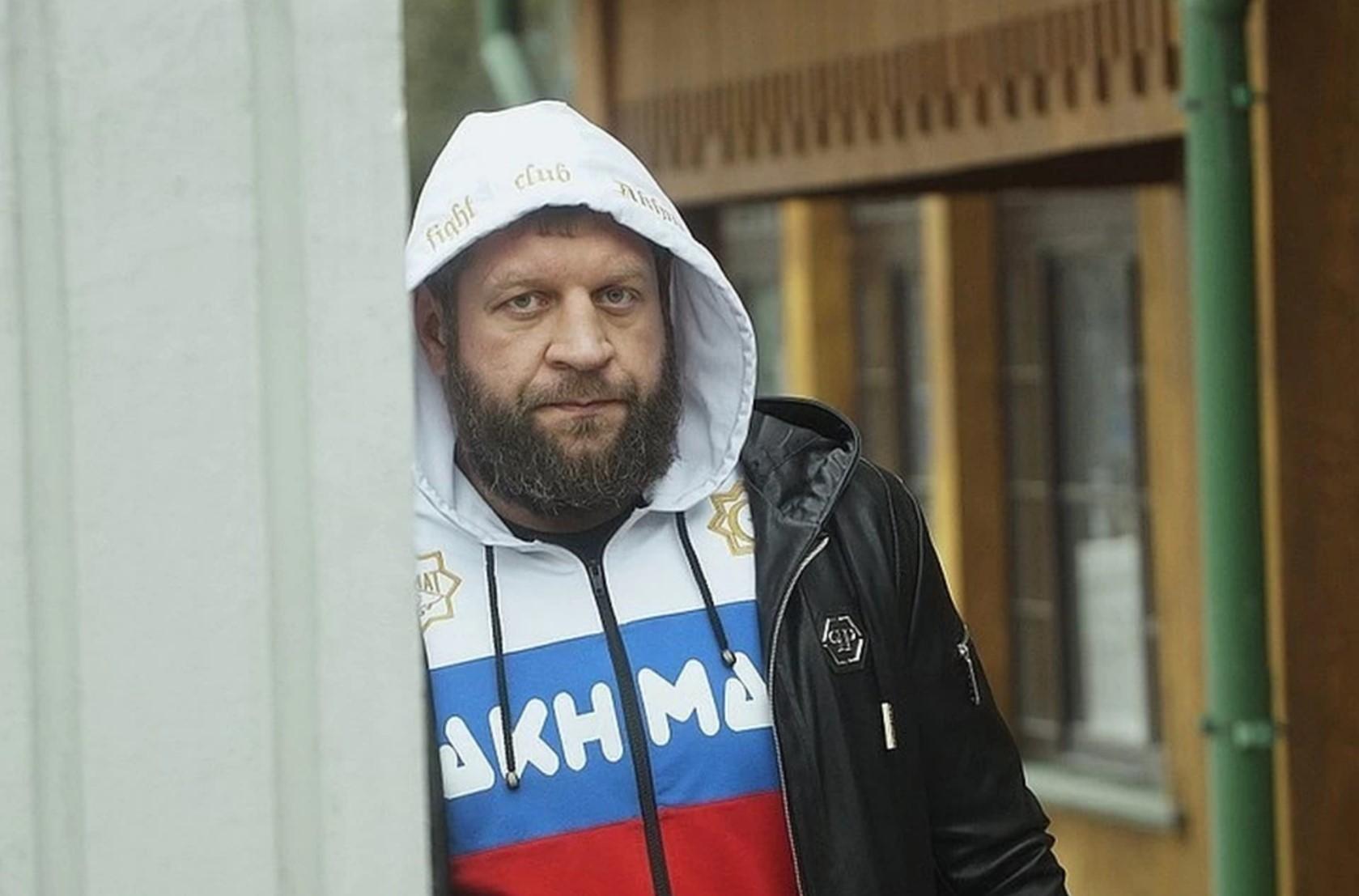 Александр Емельяненко сел за пьяный дебош