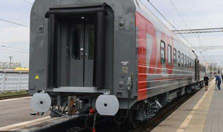 РЖД представили инновационный пассажирский вагон с душем и USB