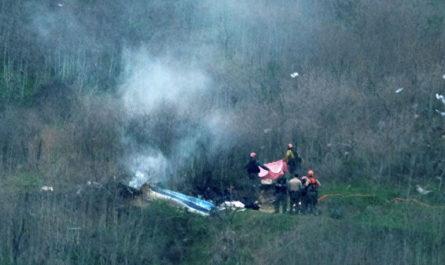 Отчет: явных повреждений двигателя вертолета Брайанта не выявлено