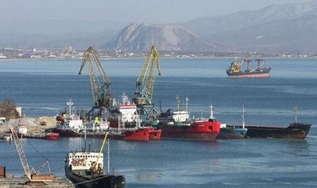 """Способное достроить """"Северный поток – 2"""" судно вышло из порта Находка"""