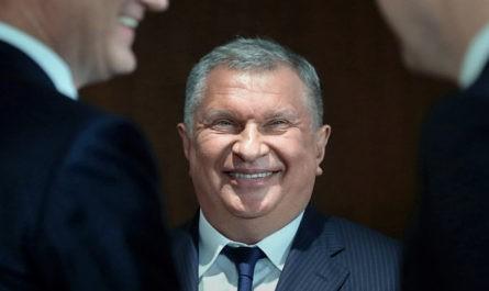 """Сечин анонсировал рост ВВП на 2% в год благодаря проекту """"Восток Ойл"""""""
