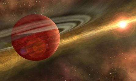 Астрономы нашли ближайший к Земле молодой газовый гигант