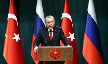 В Кремле выразили несогласие с заявлениями Эрдогана по Крыму