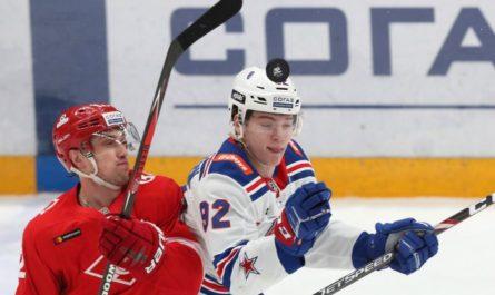 """СКА впервые победил """"Спартак"""" в сезоне КХЛ"""