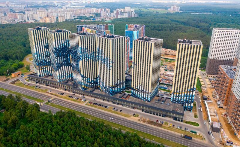 В крупном ЖК на юго-западе Москвы построят школу на 625 учеников