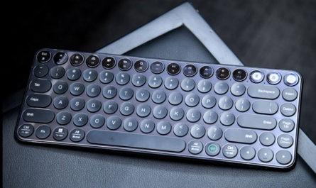 Xiaomi представила компактную клавиатуру в ретро-дизайне