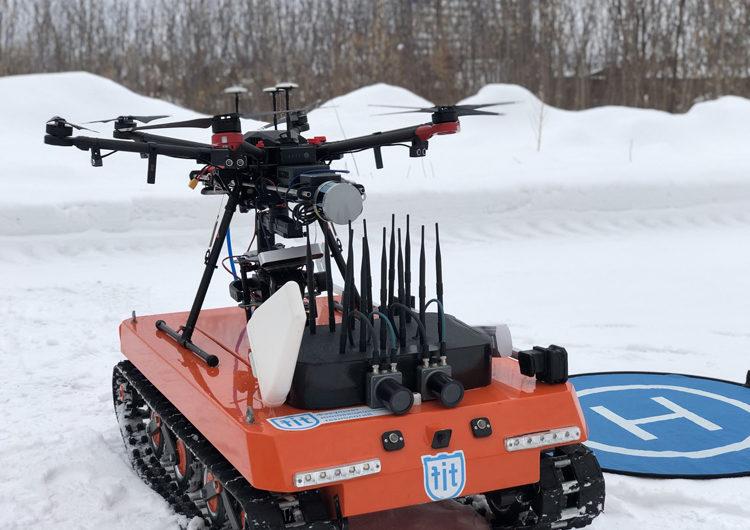 Российская система позволяет бороться с дронами-шпионами