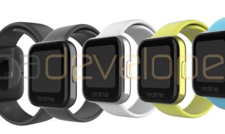 Первые смарт-часы Realme показали лицо