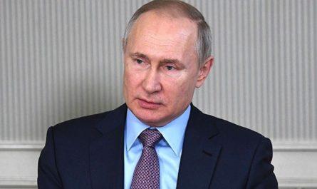 Как Путин держит самоизоляцию?