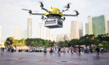 Городская доставка товаров дронами в десять раз вреднее для экологии, чем дизельными фургонами