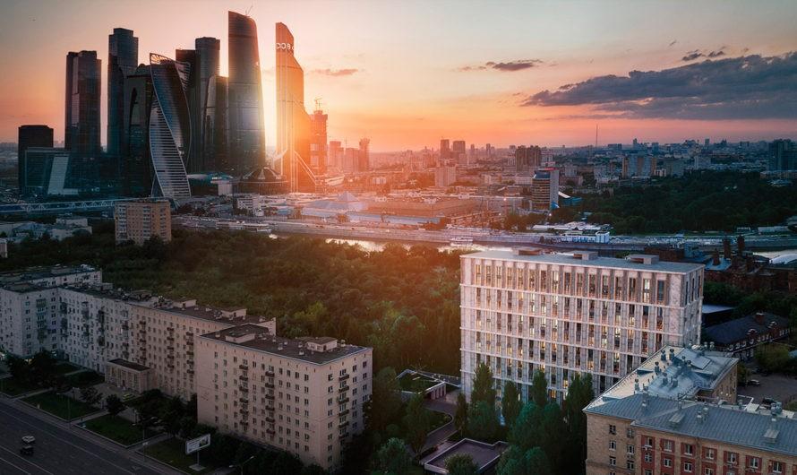 «Сад четырех сезонов» появился на крыше паркинга клубного дома «Кутузовский, 12»