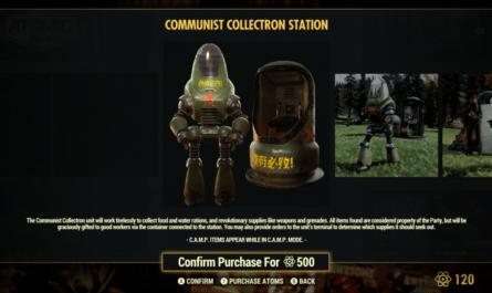 Робот-коммунист в Fallout 76 переусердствовал с пропагандой