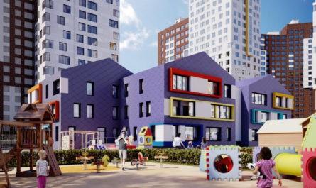 «Новая» Москва: В детском саду на 200 мест завершились монолитные работы