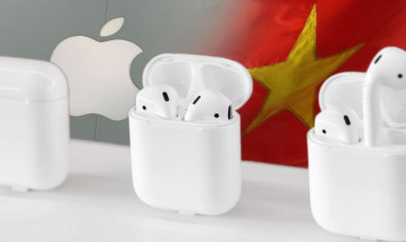 Производство Apple AirPods будет налажено во Вьетнаме