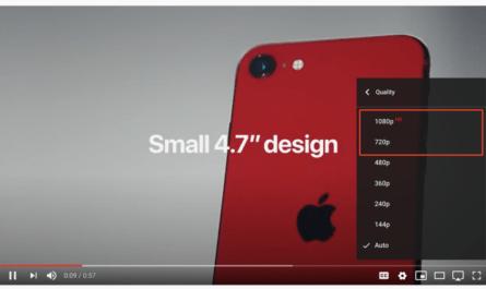 720p - больше не HD качество для YouTube