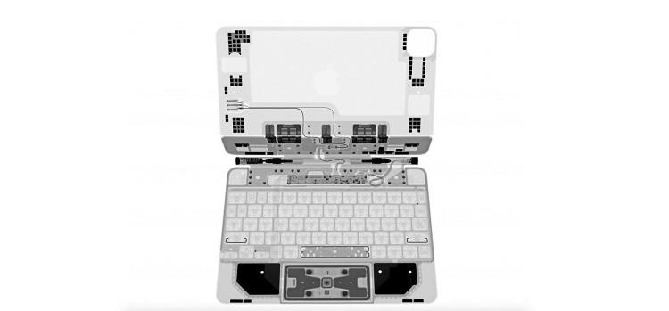 Специалисты iFixit показали «внутренний мир» Magic Keyboard для iPad Pro при помощи рентгена