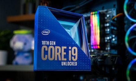 Флагманский Intel Core i9-10900K протестирован в разгоне до 5,4 ГГц по всем ядрам