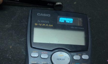 Студенты ликуют: Калькулятор Casio взломали и добавили в него Wi-Fi