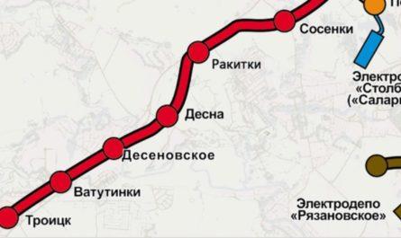Началось строительство ветки между Большой кольцевой и Коммунарской линиями метро