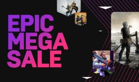Распродажа Epic Mega Sale: скидки до 75 % на RDR 2, Borderlands 3, Control и купоны на 650 рублей