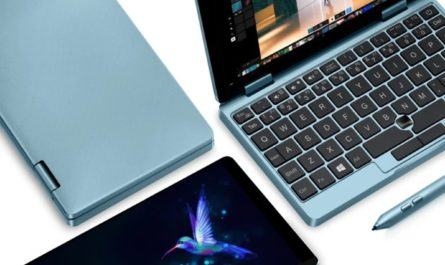 Лучший карманный Ноутбук-трансформер от One Netbook