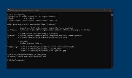 Как быстро восстановить удаленные файлы на Windows