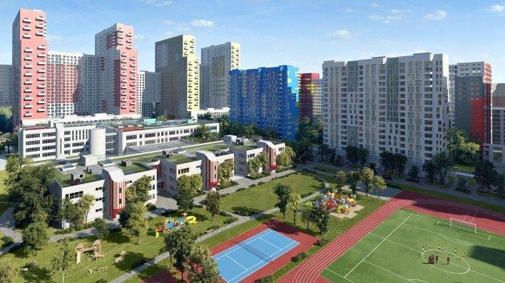 Завершено строительство корпуса № 2 ЖК «Царицыно»