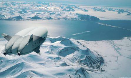 Шведская компания OceanSky отвезет вас на Северный полюс на дирижабле
