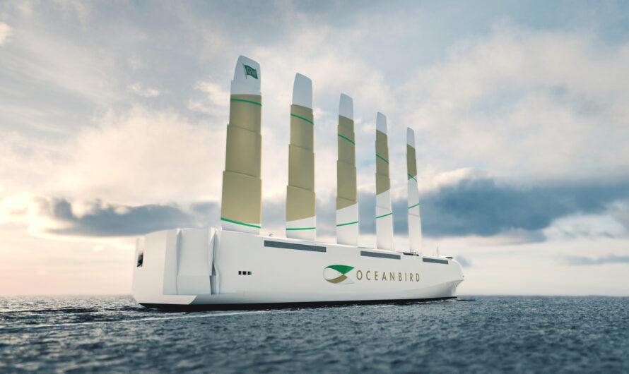 Представлен лайнер-гигант, который плавает на энергии ветра
