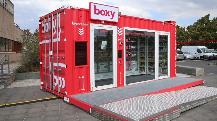 Storelift представил концепцию автоматизированного магазина Boxy