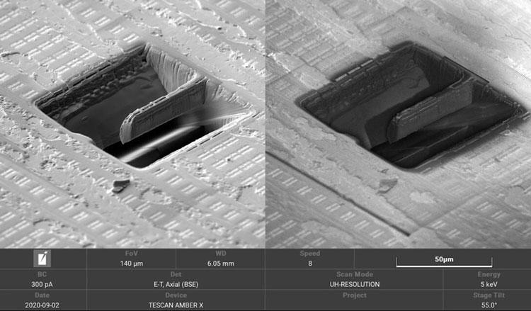 Zen 2 сравнили с Comet Lake под микроскопом: 7-нм транзисторы у AMD почти такие же по размеру, как 14-нм у Intel