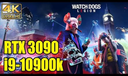 NVIDIA GeForce RTX 3090 не смогла выдать 4K @ 60 fps в хакерской Watch Dogs Legion
