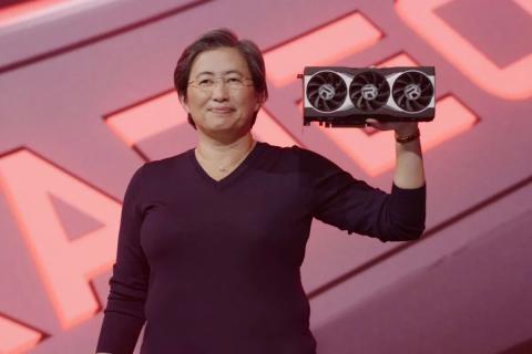AMD показала видеокарту Radeon RX 6000 и раскрыла результаты её тестирования