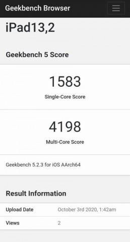 Apple A14 Bionic заметно превзошёл Snapdragon 865+ в Geekbench