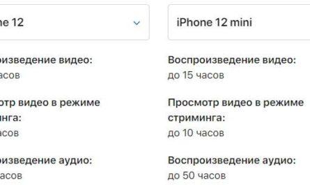 Apple рассказала об автономности новых iPhone
