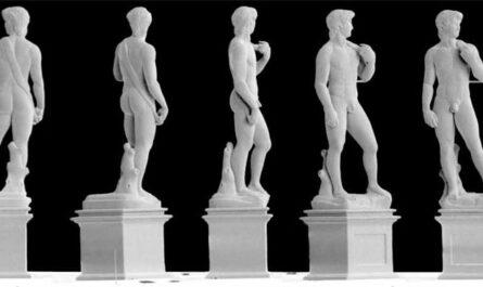 Дорогая, я уменьшил статую Давида Микеланджело