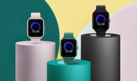 Huami представила смарт-часы Amazfit Pop с NFC и автономностью до 9 дней