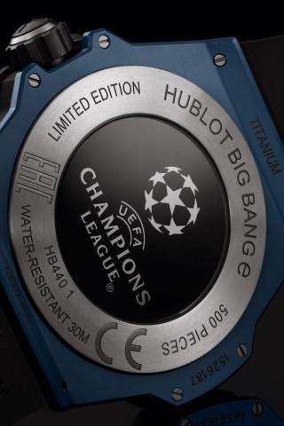 Hublot Big Bang E UEFA Champions League: умные часы для любителей футбола