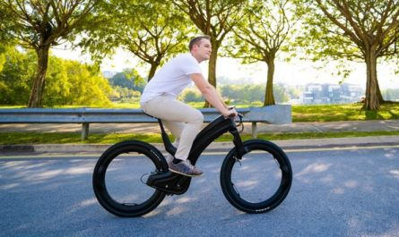 Электровелосипед без спиц собрал на Indiegogo в 10 раз больше нужной суммы